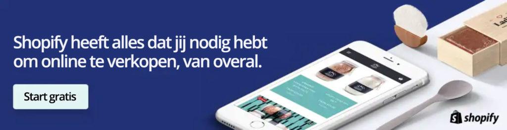 Shopify 14-dagen gratis proefversie