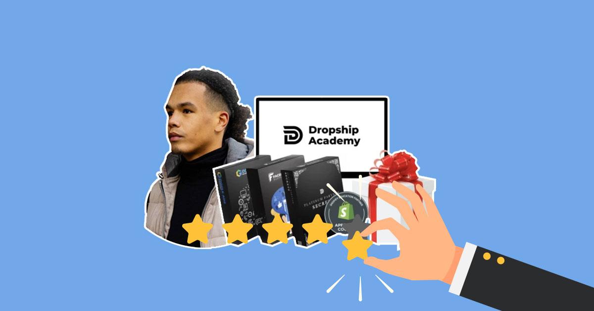joshua kaats opgelicht, dropship academy review